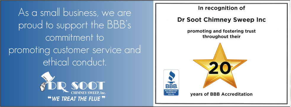 Dr Soot Chimney Sweeps BBB Accredited